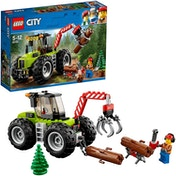 LEGO City Forest Tractor Construction Set 60181