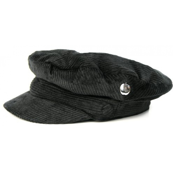 The Beatles Help! Hat: Black Cord with Badge (Small)
