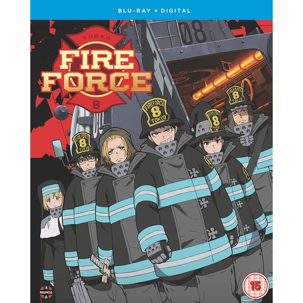 Fire Force: Season 1 Part 1 (Episodes 1-12) Blu-ray + Digital Download