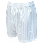 Precision Striped Continental Football Shorts 42-44 inch White
