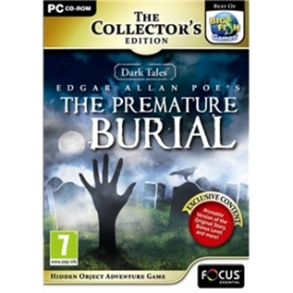 Dark Tales 3 Edgar Allan Poes The Premature Burial The Collector's Edition