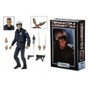 "Ultimate T-1000 Motorcycle Cop (Terminator 2) 7"" NECA Action Figure"