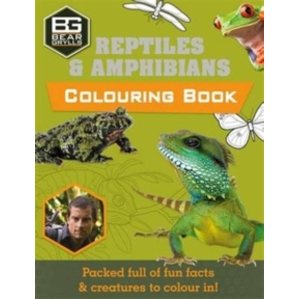 Bear Grylls Colouring Books: Reptiles