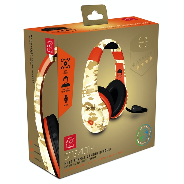 Stealth XP-Warrior Desert Camo Multi Format Stereo Gaming Headset