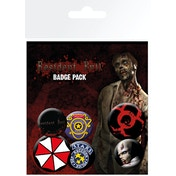 Resident Evil Mix Badge Pack