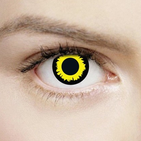 Wolf Eyes 1 Day Halloween Coloured Contact Lenses (MesmerEyez XtremeEyez)