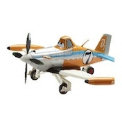 Ex-Display Disney Planes Remote Control Driving Dusty Plane 1:24 Used - Like New