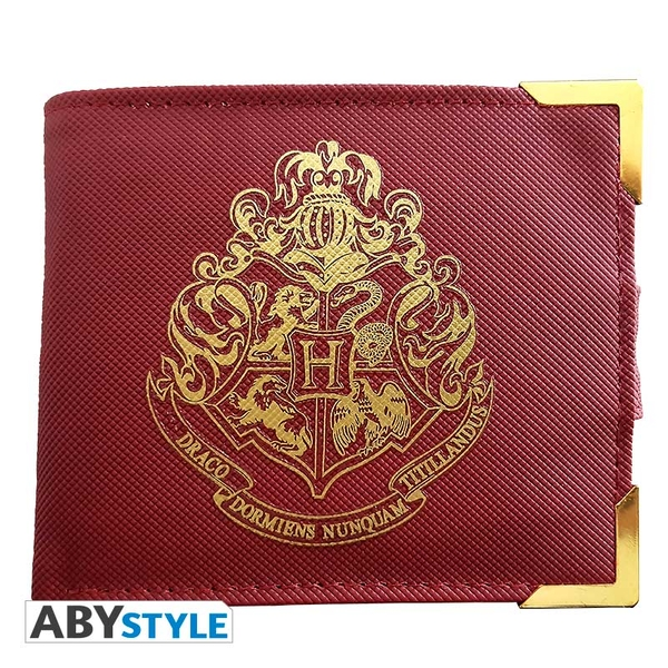 Harry Potter - Premium Golden Hogwarts Wallet