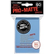 Ultra Pro Matte Small Light Blue DPD 10 Packs Of 60