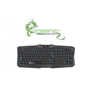 Dragon War Silvio Multimedia Gaming Keyboard UK Qwerty
