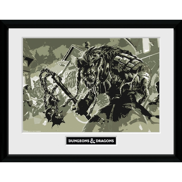 Dungeons & Dragons - Gnoll Collector Print