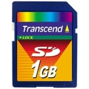 Transcend 1GB Secure Digital Card TS1GSDC