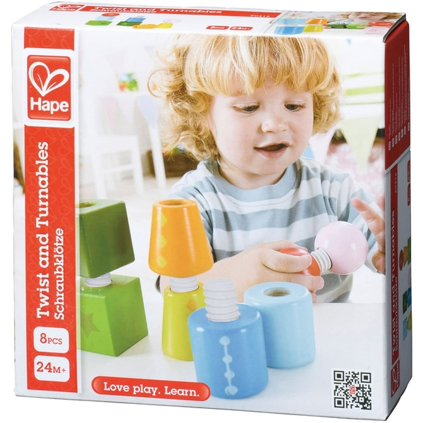 Hape Twist and Turnables [Damaged Packaging]