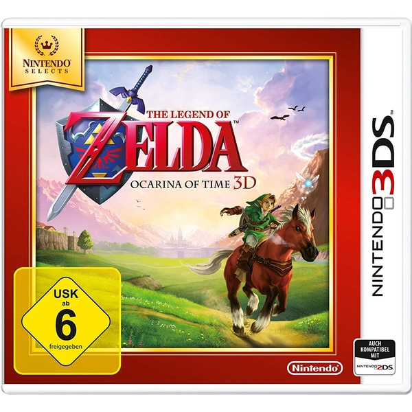 The Legend Of Zelda Ocarina Of Time 3D Game 3DS (Selects) [German Version]
