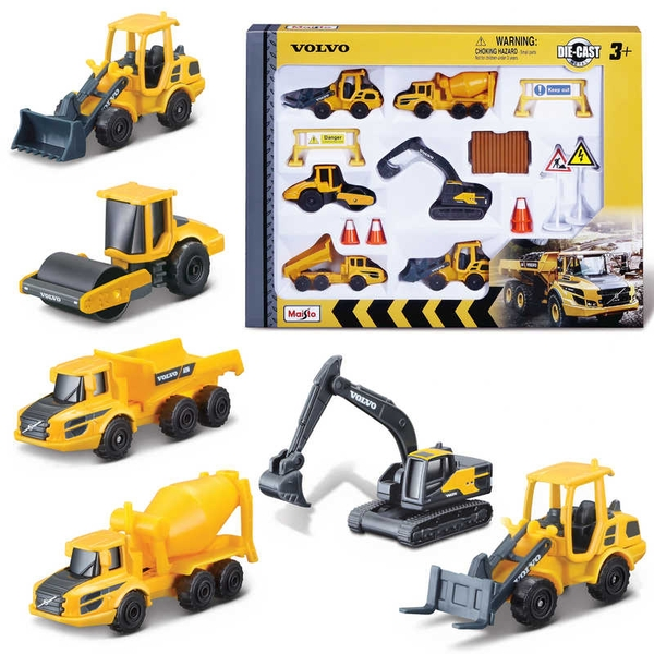 Volvo Construction Playset
