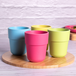 Bamboo Fibre Tableware Bamboo Fibre Cups - Set of 4 | M&W - Image 2