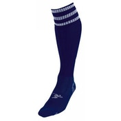 PT 3 Stripe Pro Football Socks LBoys Navy/White