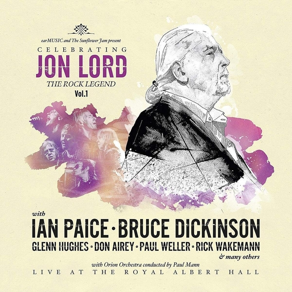Jon Lord - Celebrating Jon Lord: The Rock Legend. Vol. 1 (Limited Edition) Vinyl