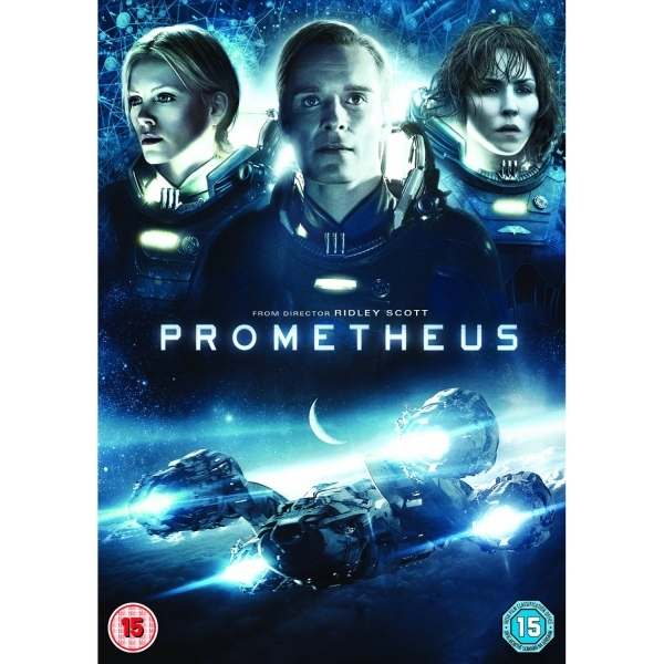 Prometheus DVD