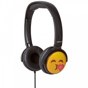 Groov-e EarMOJI's Stereo Headphones Kissing Face