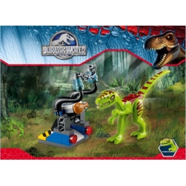 Lego Jurassic World Toy Edition Xbox 360 Game With Gallimimus
