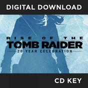 Rise of the Tomb Raider 20 Year Celebration PC CD Key Download for Steam