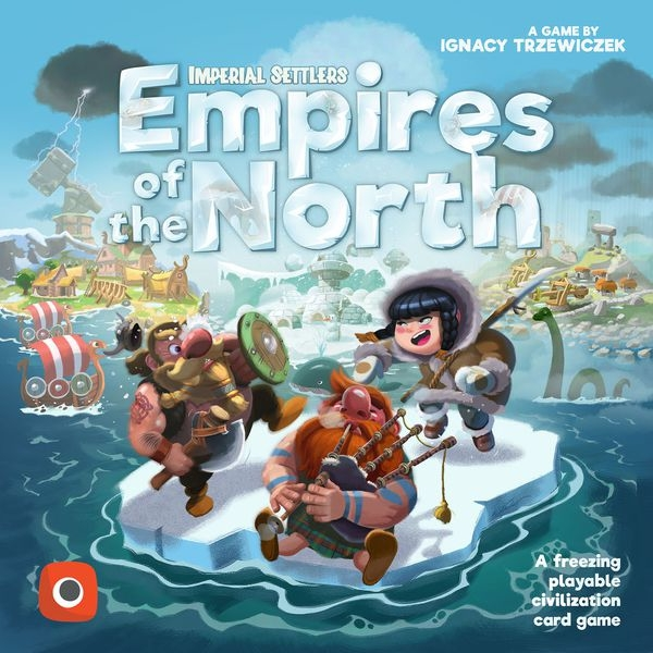 Imperial Settlers Empires of the North Card Game