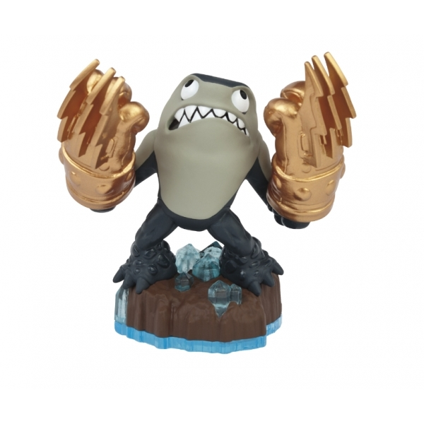 Knockout Terrafin (Skylanders Swap Force) Earth Character Figure - Image 1