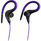 Groov-e Sports Clips Ultra Light Earphones Violet