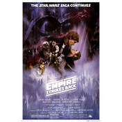 Star Wars: The Empire Strike Back One Sheet Maxi Poster