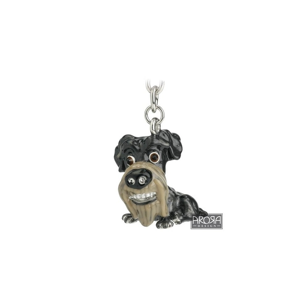 Little Paws Key Ring Schnauzer