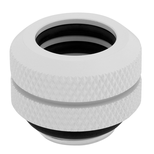 Corsair Hydro X Series XF Hardline 12mm White Fittings - Four Pack (CX-9052006-WW)