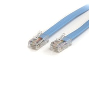 6 ft Cisco Console Rollover Cable RJ45 Ethernet Male to Male