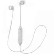 JVC HAFX21BTWE Powerful Sound Wireless Bluetooth In Ear Headphones White