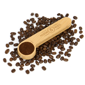 2 in 1 Wooden Coffee Clip & Spoon | M&W