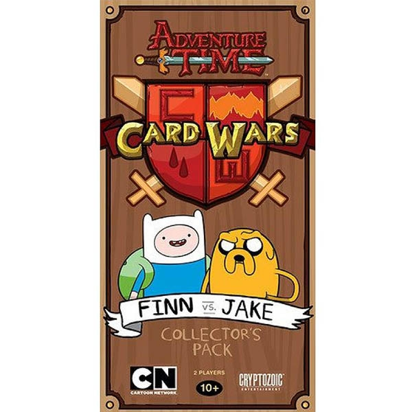 Adventure Time Card Wars Finn vs. Jake Collectors Pack