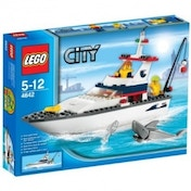 Lego City 4642 Fishing Boat