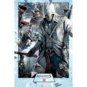 Assassin's Creed III Collage Maxi Poster