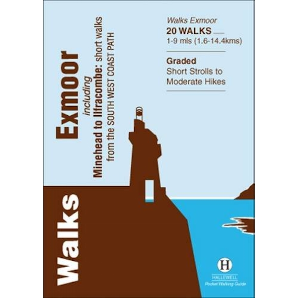 Walks Exmoor: Including Minehead to Ilfracombe: Short Walks from the South West Coast Path by Richard Hallewell (Paperback, 2013)