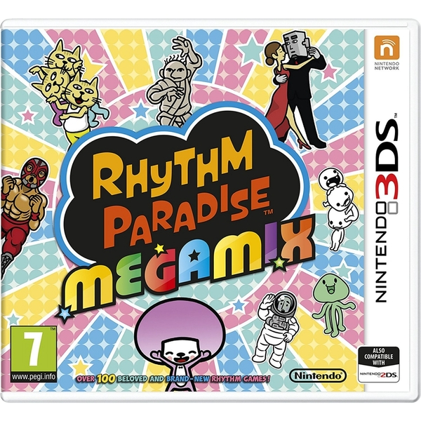 Rhythm Paradise Megamix 3DS Game