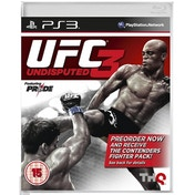 UFC Undisputed 3 With Pre-Order Bonus Contenders Fighter Pack Game PS3