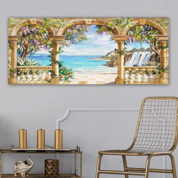 YTY328566125_50120 Multicolor Decorative Canvas Painting