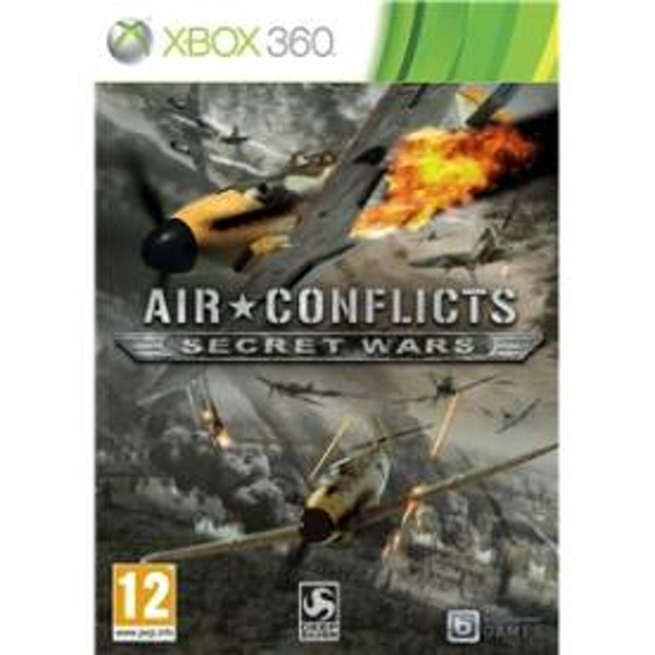 Air Conflicts Secret Wars Game Xbox 360