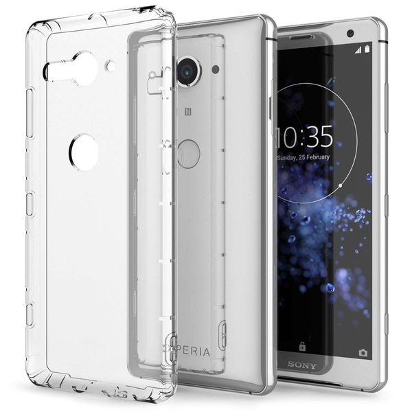 Sony Xperia XZ2 Compact Air Cusion Gel Case - Clear