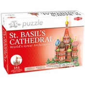 St. Basil's Cathedral 184 Piece 3D Jigsaw Puzzle