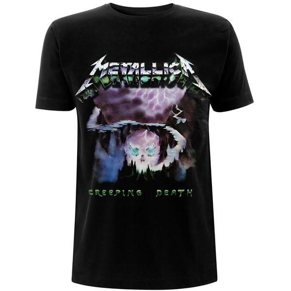 Metallica - Creeping Death Unisex Small T-Shirt - Black