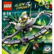 LEGO Alien Conquest 7065 Alien Mothership