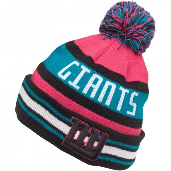 Hey! Stay with us... New Era NFL New York Giants The Jake Knit Hat Pink ... e174d5c17