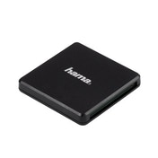 Hama USB 3.0 Multi Card Reader, SD/microSD/CF, black
