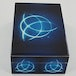 Celtic Triquetra Blue Fire Box Wooden Storage Box - Image 2